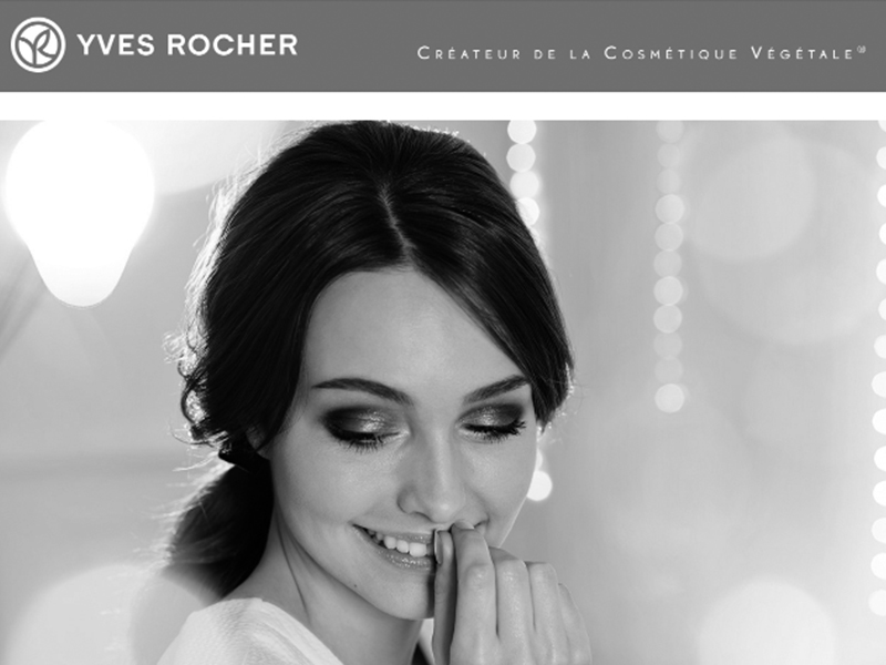 Yves Rocher newsletter